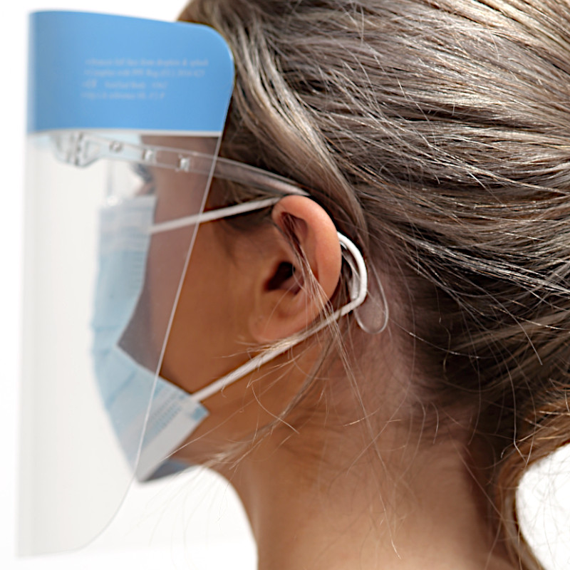 Elastic Support Face Shield Printed